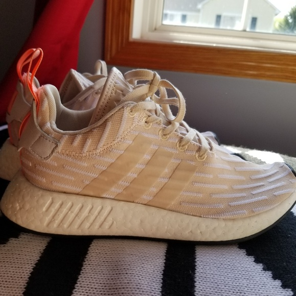 1d5c19d7a adidas Shoes - Adidas NMD R2 Womens Shoes in Tan Orange  SALE